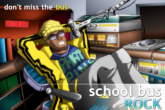 School Bus Rock